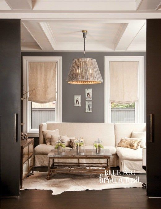 Gray White And Beige Neutral Living Room Design With Lots Of Texture Unique Living Room Ideas Decor Living Room Grey Home Grey Walls #neutral #living #room #wall #colors