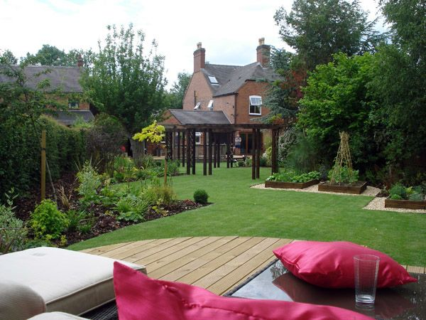 Beau Discover How We Designed And Built This Large Rural Rear Garden In  Leicestershire.