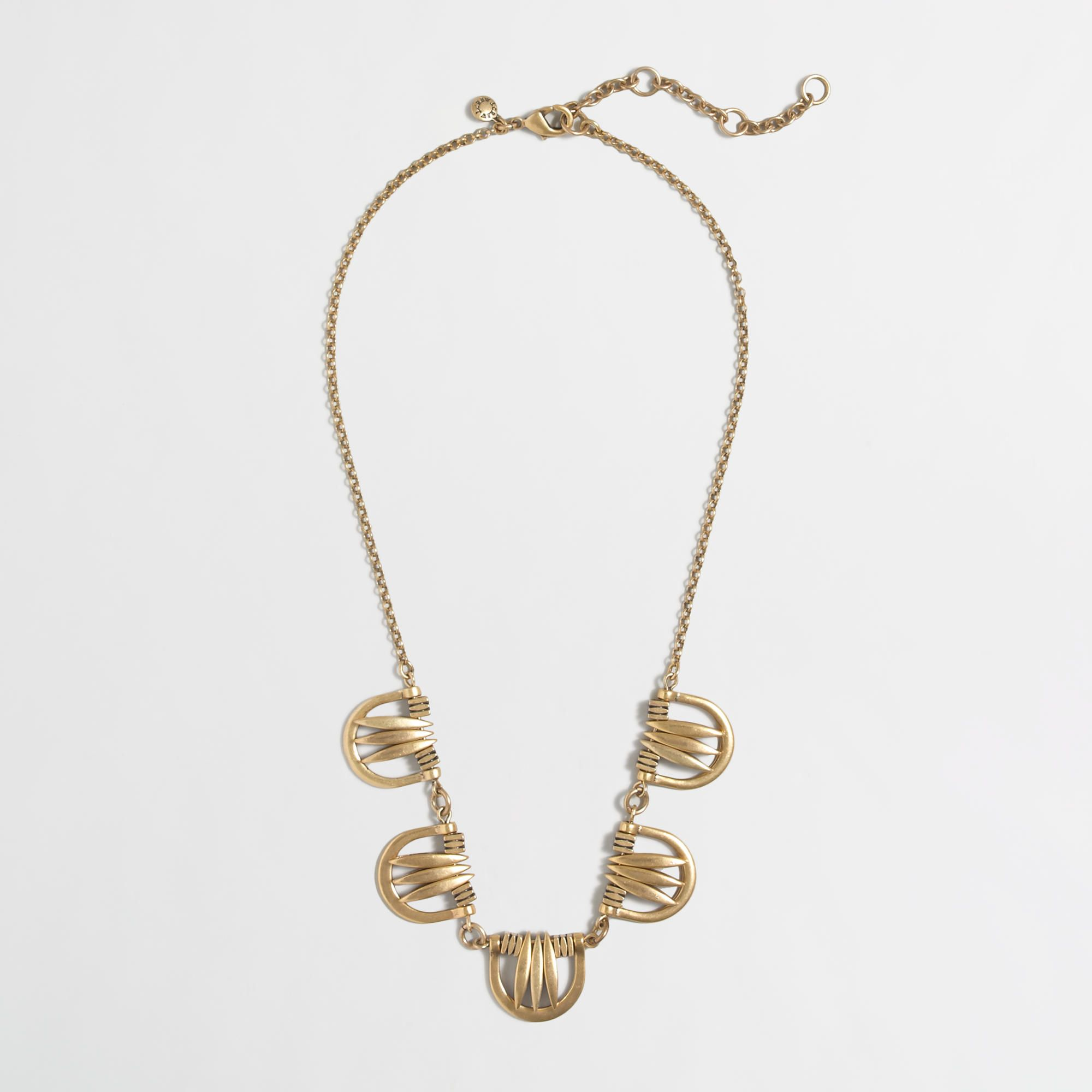 disk s claire necklace long chain pendant