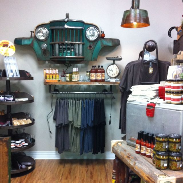 Furniture And Accessories Outlet: Our Man Cave In Our Boutique! Pretty Dang Cool!
