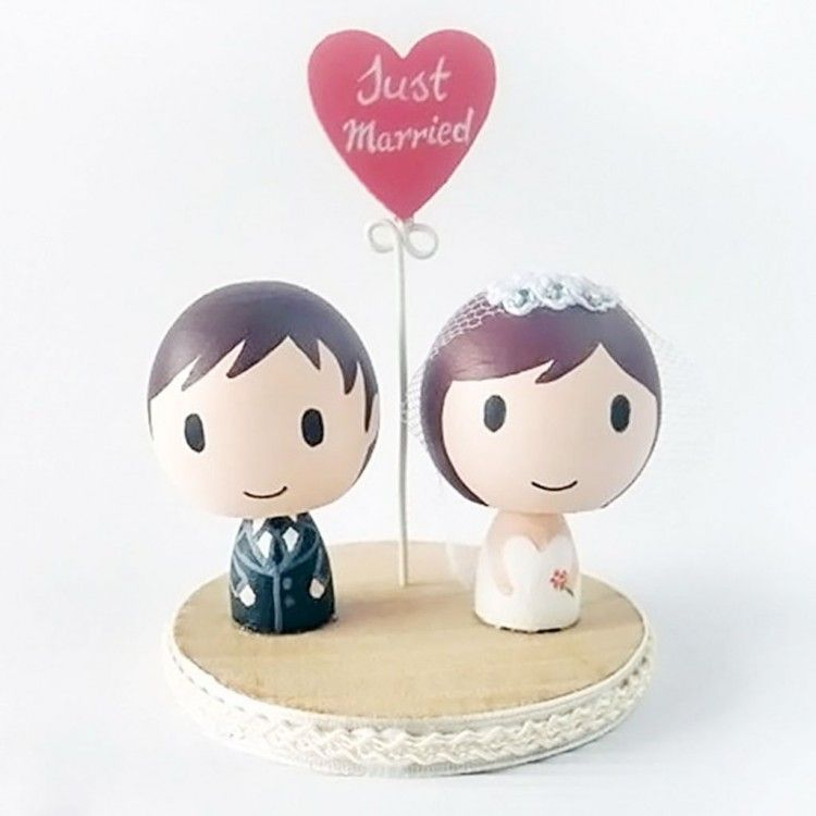 Cake Toppers Ireland | Handcrafted Personalised Wedding Cake Toppers