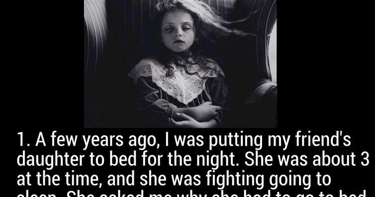 16 frighteningly creepy things