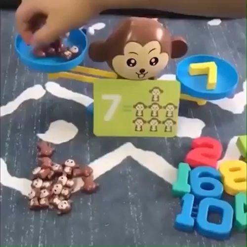 Children's Math Balance Toy