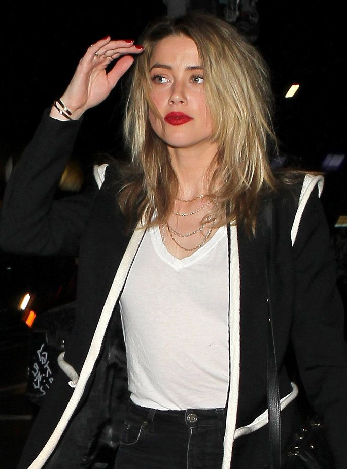 Amber Heard Just Cut Off Her Hairand You Need To See The Pics