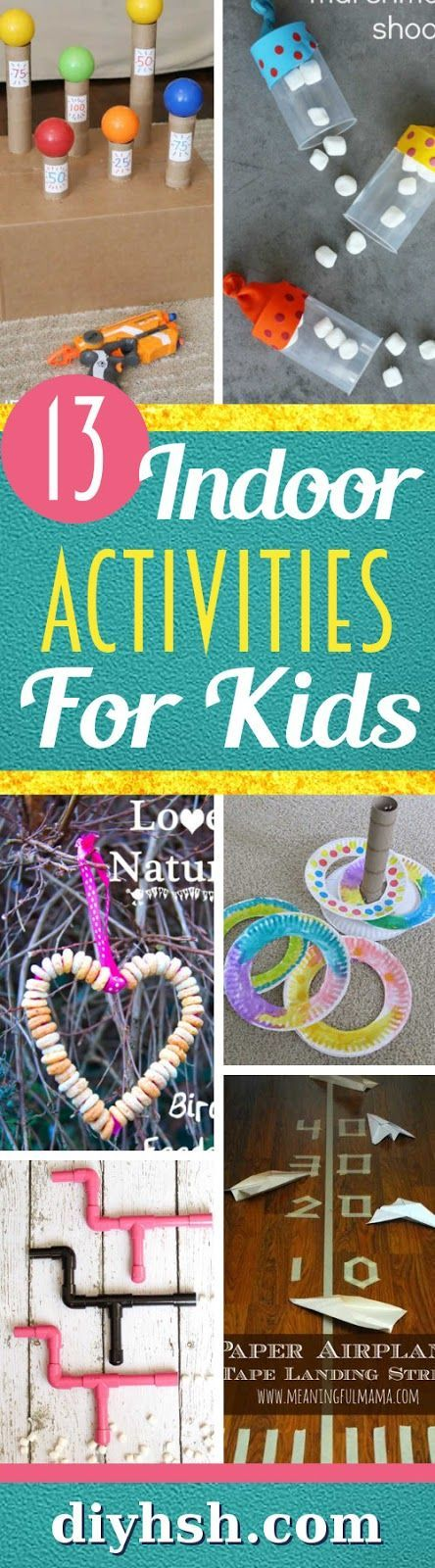 Indoor Activities For Kids Indoor activities for kids