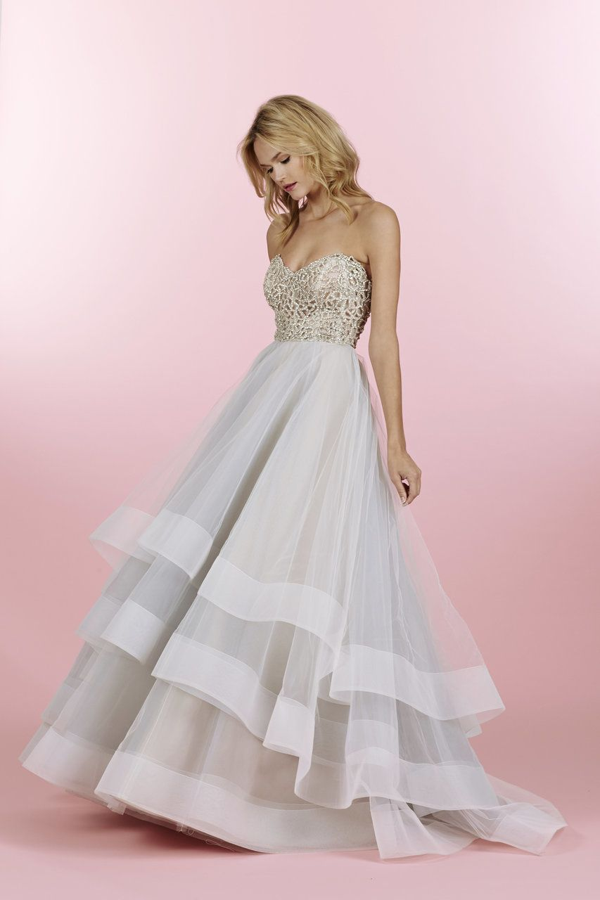 Hayley paige josie wedding dress find this sample dress and more