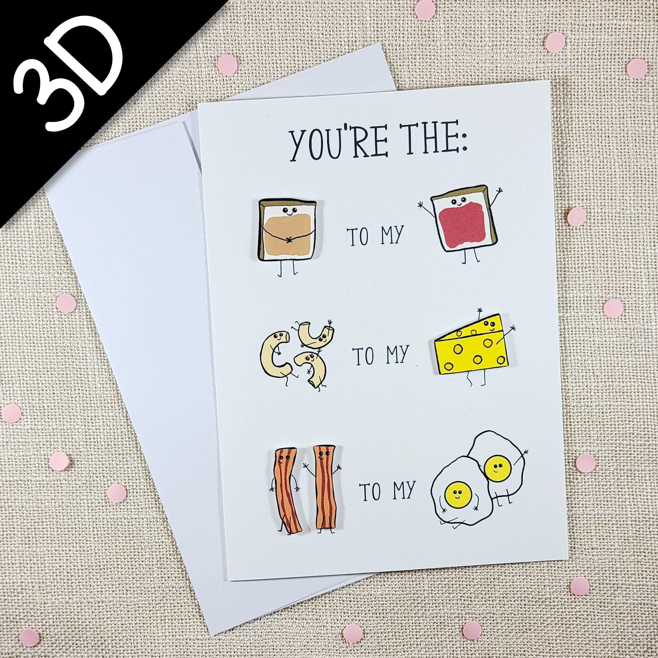 Perfect Pair Funny Cute Card Love Card Card For Best Friend Anniversary Card Handmade Greeting Card Kawaii Card Best Friend Birthday Cards Best Friend Cards Friend Valentine Card