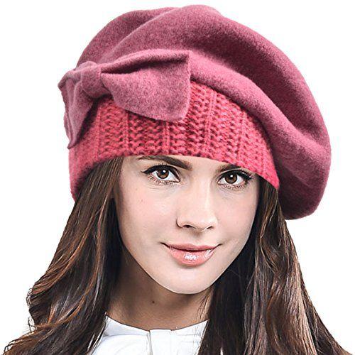 Lady French Beret Wool Beret Chic Beanie Winter Hat Jf Br Https Www Amazon Com Dp B017ekflra Ref Cm Sw R Pi Dp X V0 Yb Chic Beanie Winter Hats Dress Hats