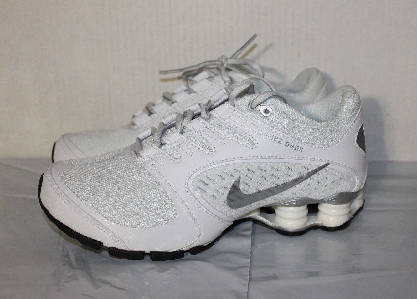 678632 Shoes Vaeda Shox White Running Silver Women's Nike q4jLc3AR5