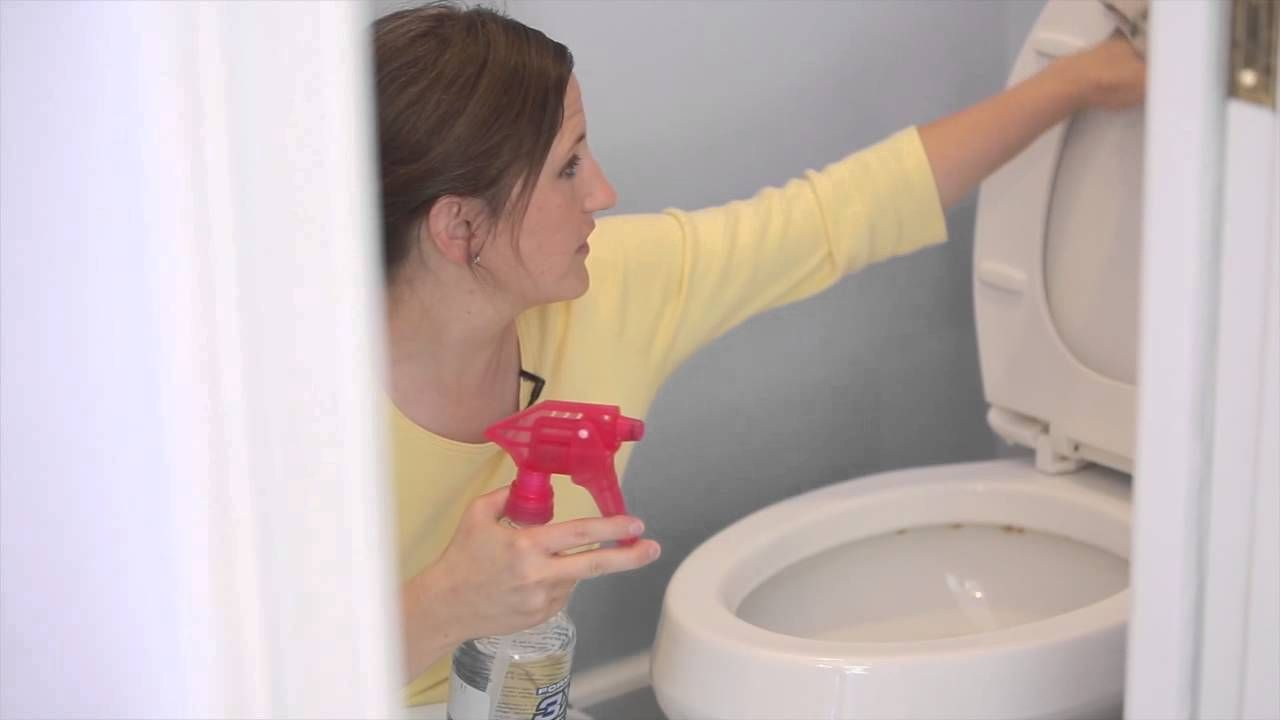Cleaning The Bathroom