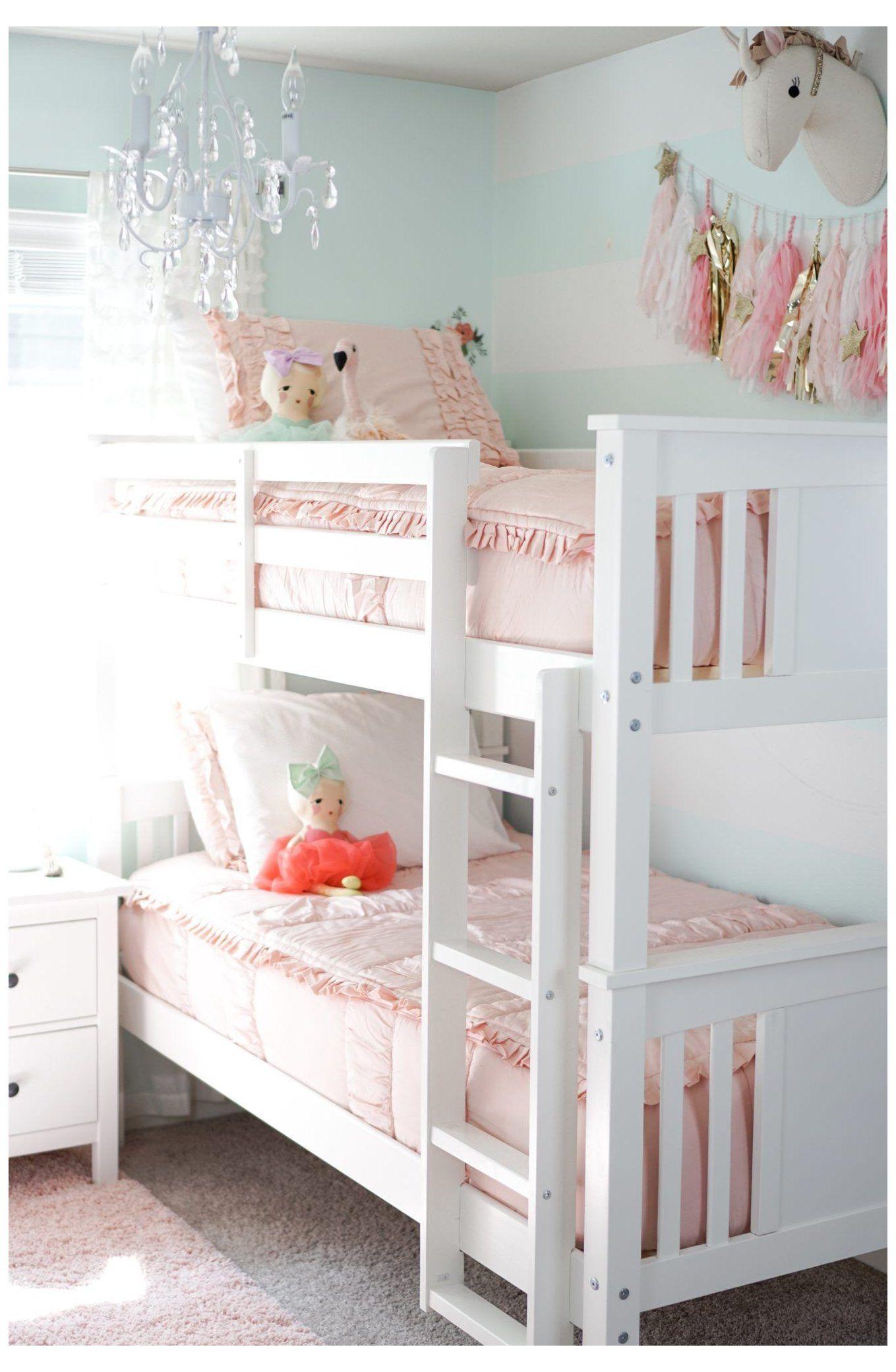 Big Girl Bedroom Update bunk beds for girls room
