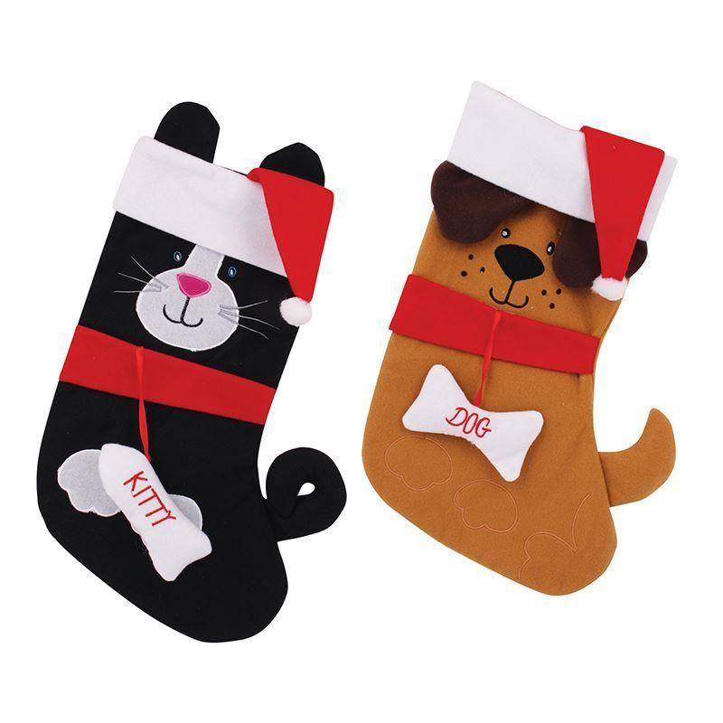 animal christmas stocking cs238 casual apparel