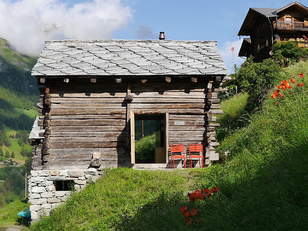 Anako Lodge, Wallis, Switzerland Ferienhaus, Architektur