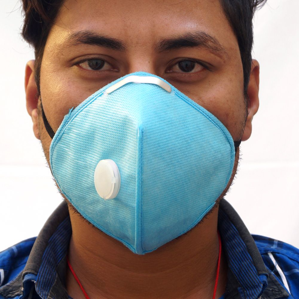 Anti Pollution Mask with Activated Carbon Filter | Pollution Mask ...