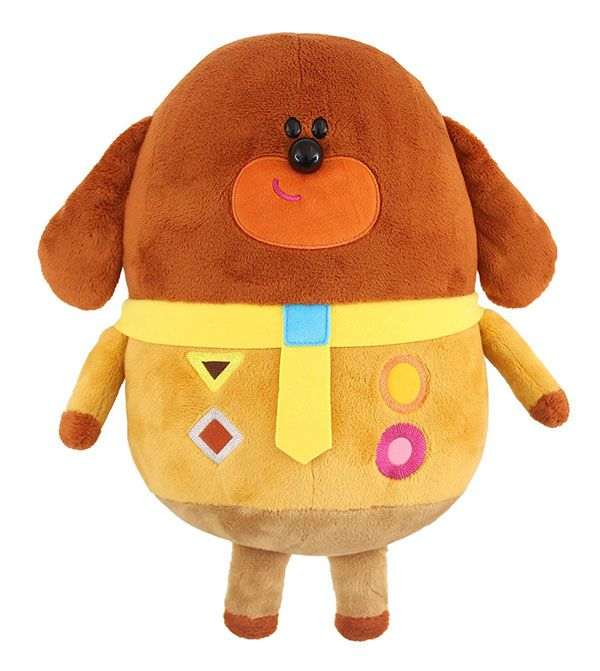 hey duggee hey duggee woof woof duggee soft toy at bbc. Black Bedroom Furniture Sets. Home Design Ideas