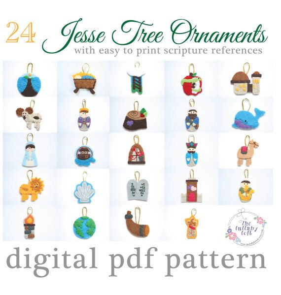 Jesse Tree Ornaments To Print And Color The Best Of Small Things