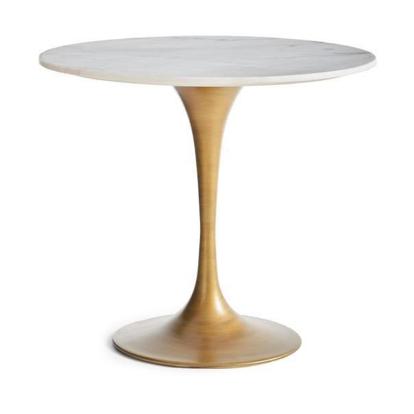 Rene Round Marble Top Table Marble Bistro Table Round Marble
