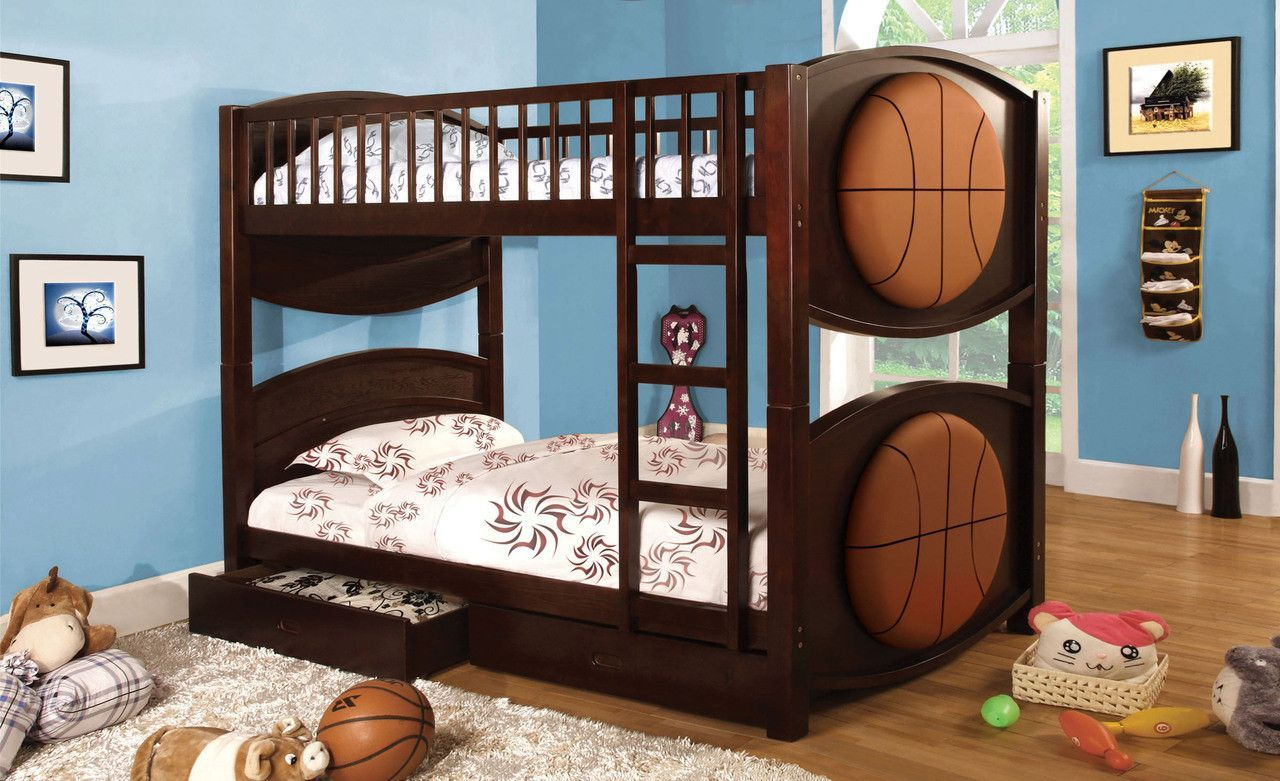 Twin Bunk Bed Olympic Ii Collection CmBk065BsktT Twin