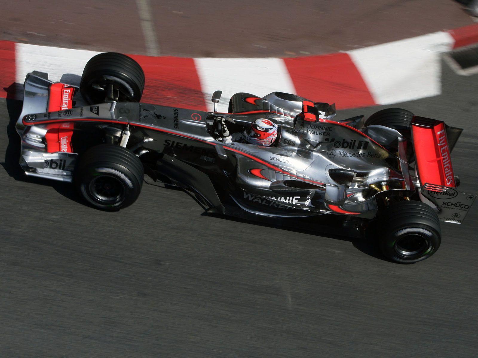 Kimi Raikkonen, McLaren MP4/21, 2006 Monaco GP