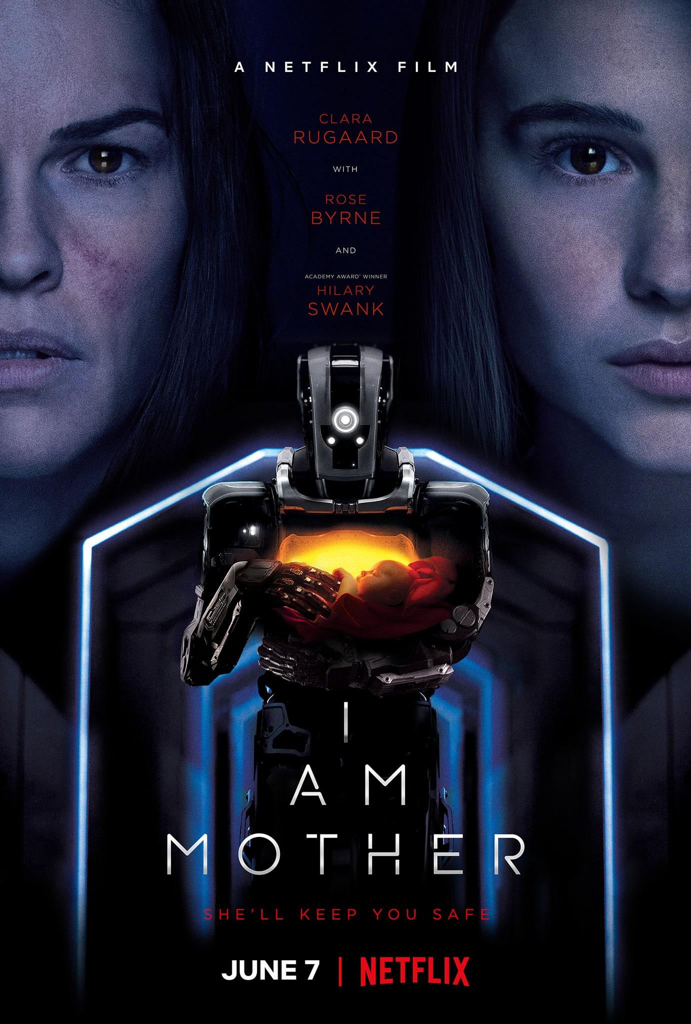 I Am Mother Роуз бирн, Фильмы, Роботы