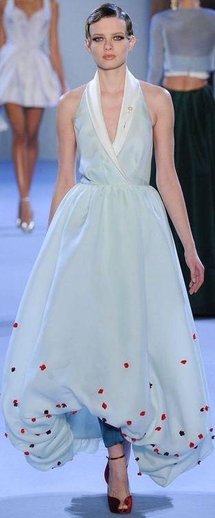 Ulyana Sergeenko Haute Couture S/S 2014 ~ Paris