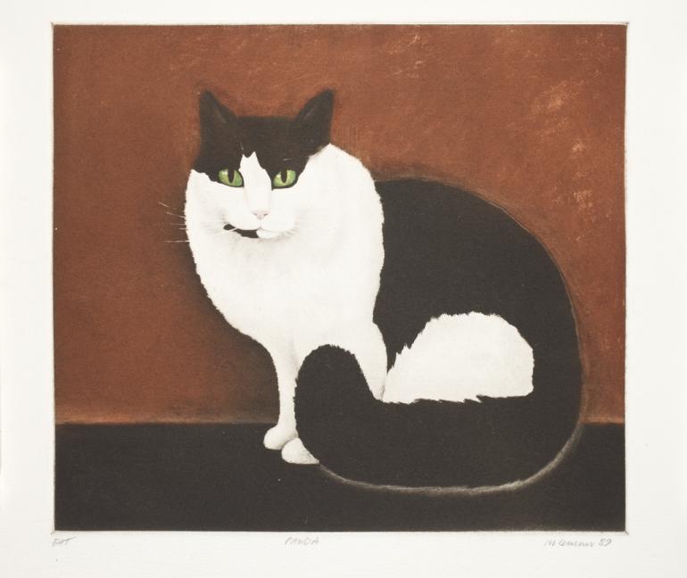 "Martin Leman (b. 1934) - ""Panda"", 1989"