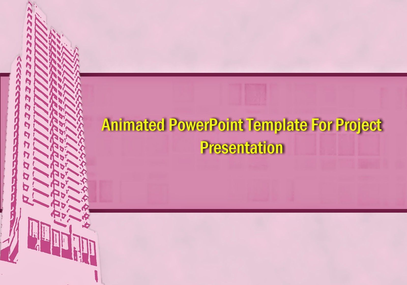 professional animated powerpoint templates free download for project