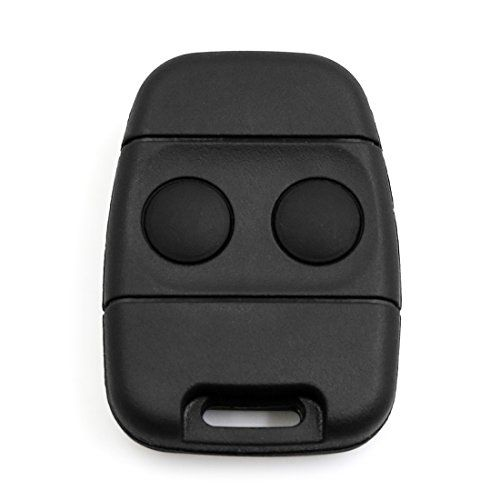 2 Button Remote Key Case Shell Protective Cover with Key for Landrover