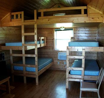 Small cabin interiors cabin interior at blsp camping - Interior pictures of small log cabins ...