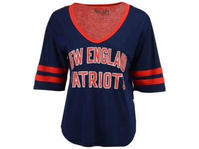 New England Patriots Touch by Alyssa Milano NFL Women s Quarterback T-Shirt 740910c52