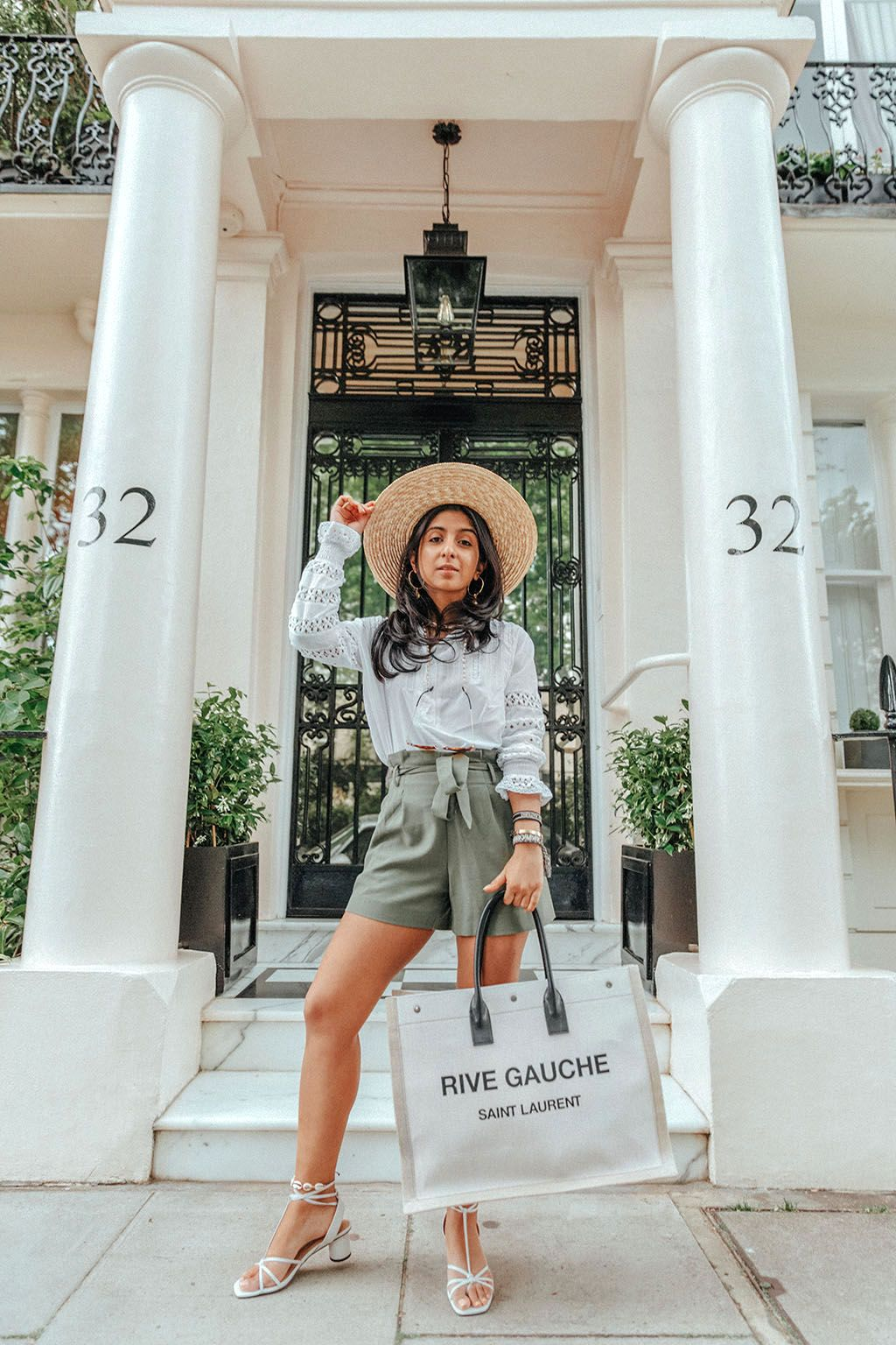 07db88988 Luxury fashion blogger Shloka Narang of The Silk Sneaker shares how to wear  shell jewellery and