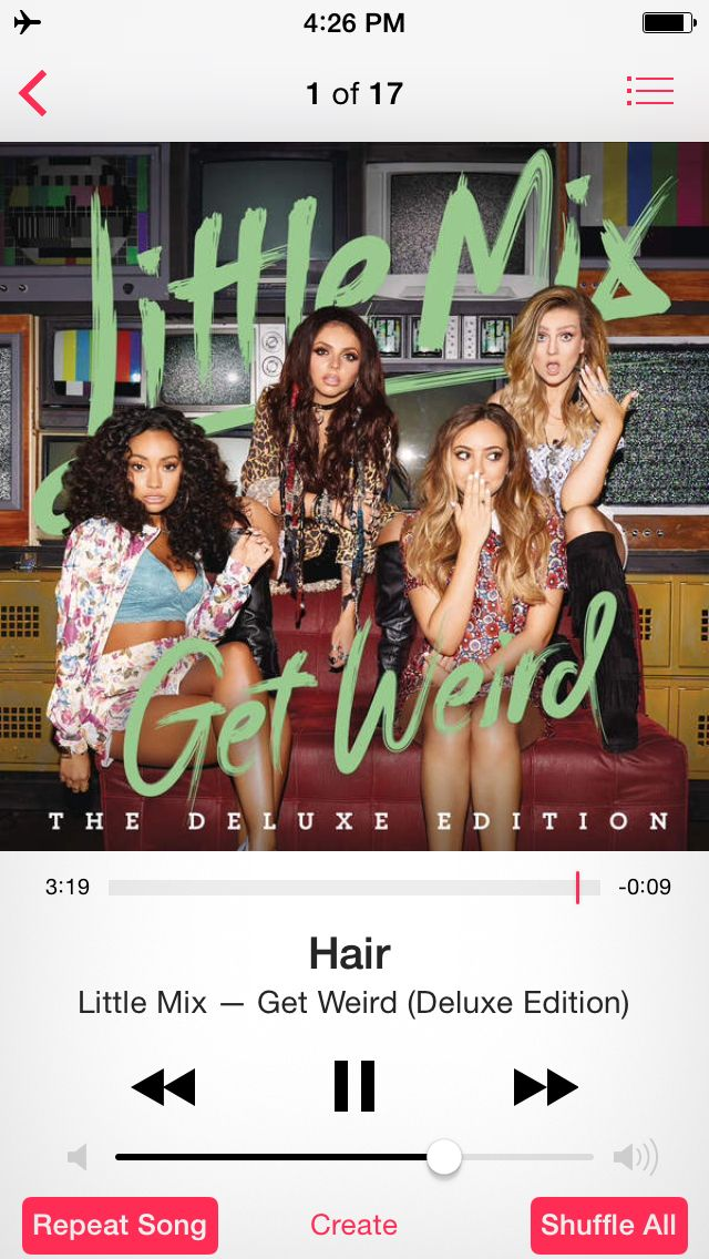 little mix get weird itunes