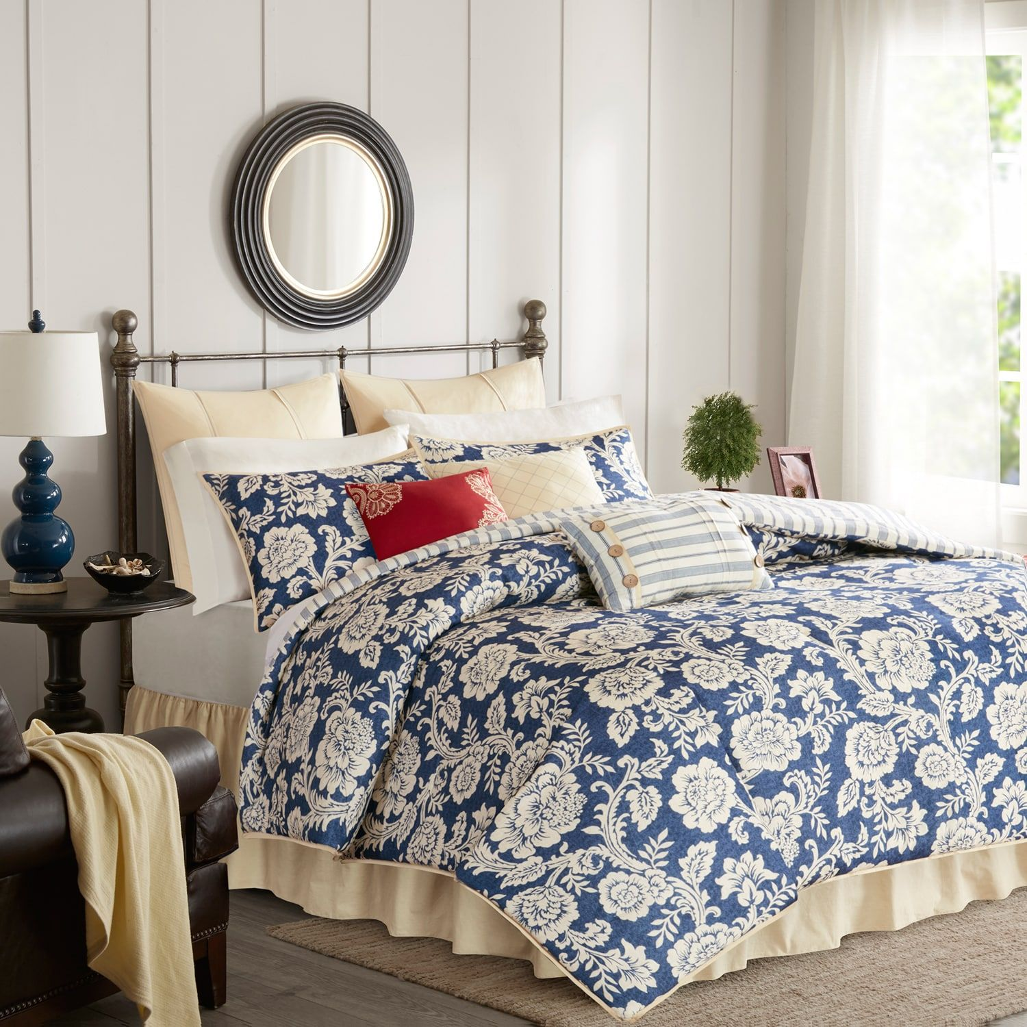 Madison Park 9 Piece Georgia Comforter Set