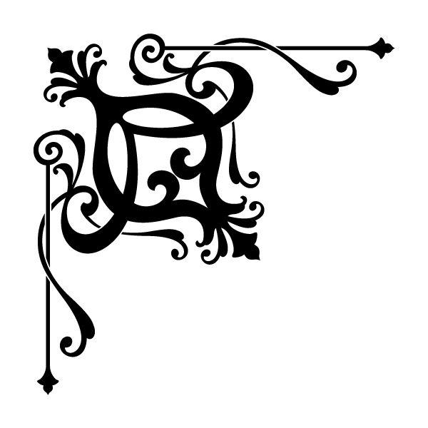 Corner Scroll Designs: Corner Designs To Print