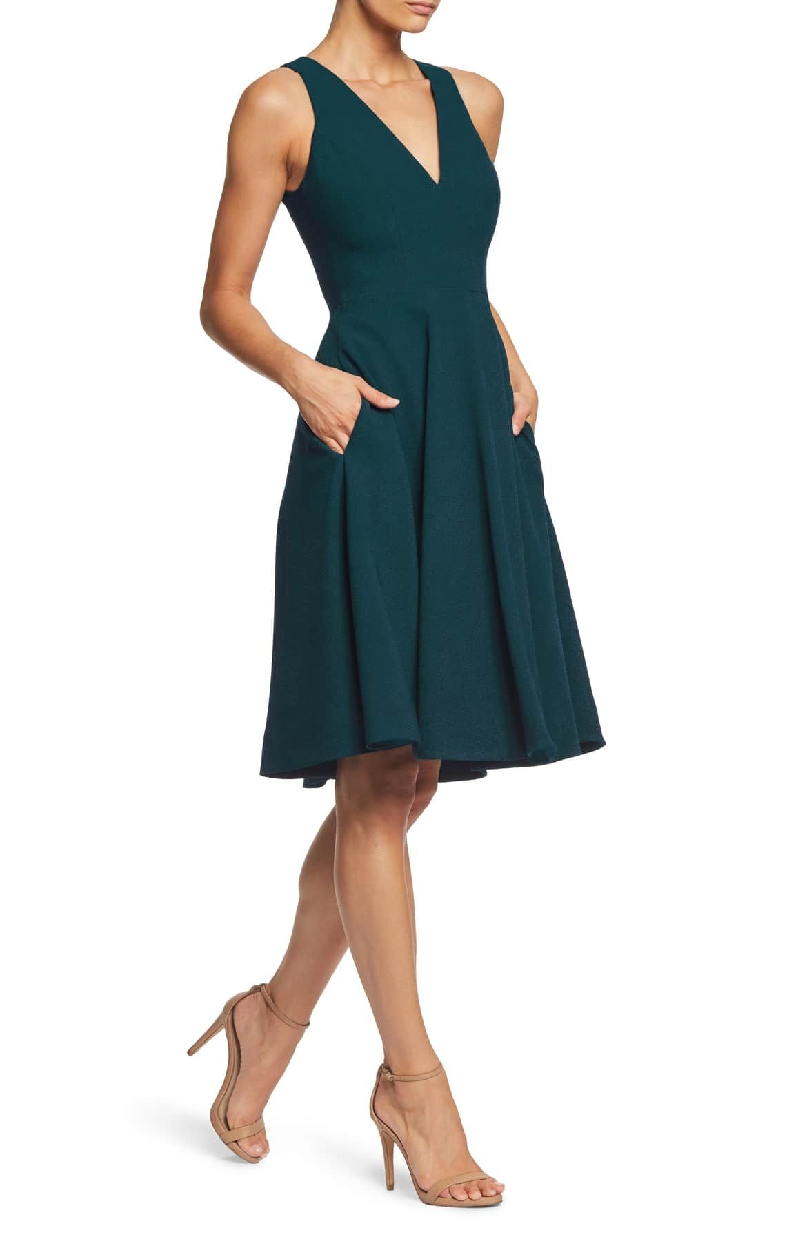 2f637cb10199 Catalina Tea Length Fit   Flare Dress