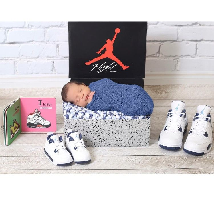 Michael Jordan baby photo shoot | Baby boy newborn pictures ...