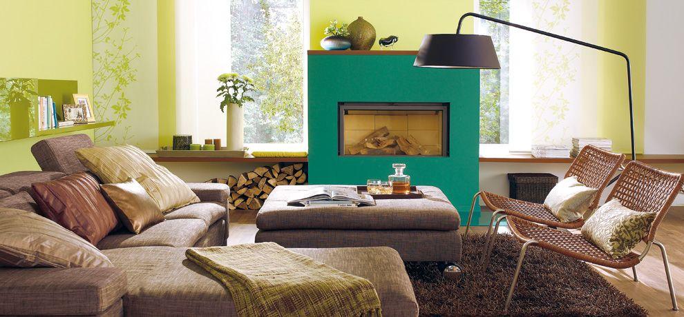 Grün herausgeputzt – SCHÖNER WOHNEN-FARBE | Farbkonzepte | Pinterest ...