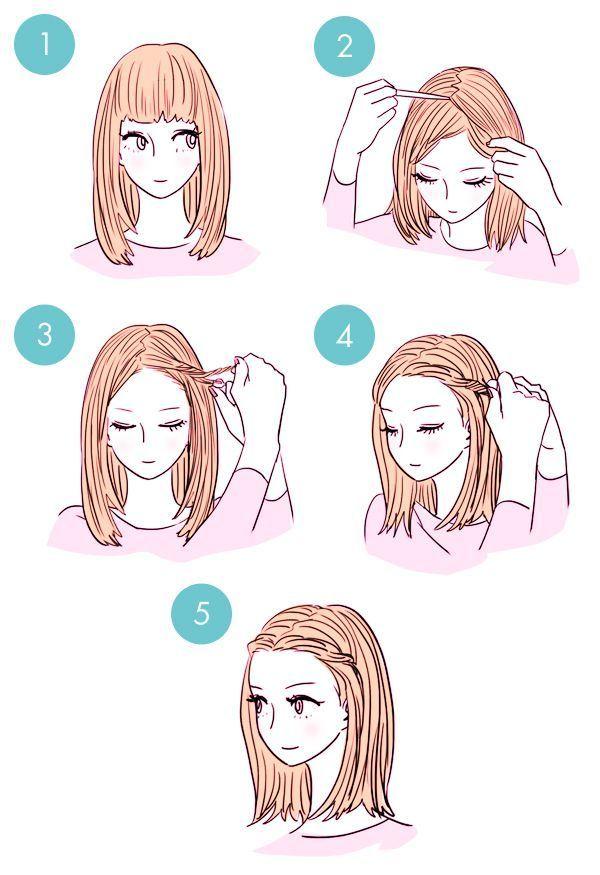 Más de 20 tutoriales fáciles de peinado de bricolaje en 3 minutos www.FabArtDIY ….
