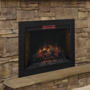 Classicflame 26 In Spectrafire Fireplace Insert Flush Mount