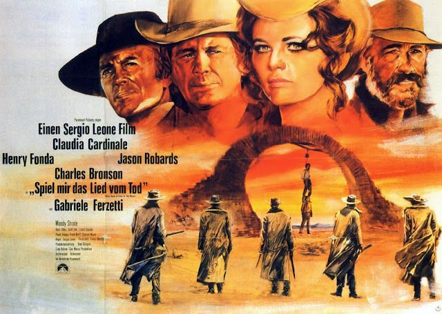 "THE MASTERPIECE CLASSIC FILM! ""Once Upon a Time in the West"" (1968) 