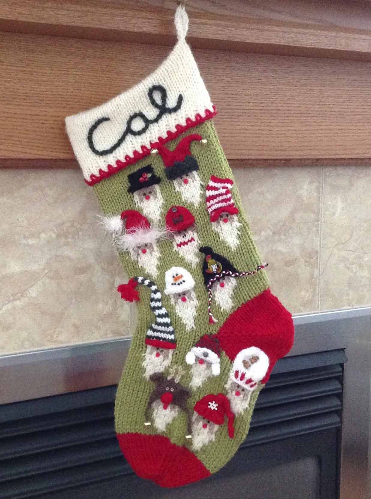 30 Pretty Picture of Knitting Pattern Christmas Stocking | Christmas stockings, Knitting ...