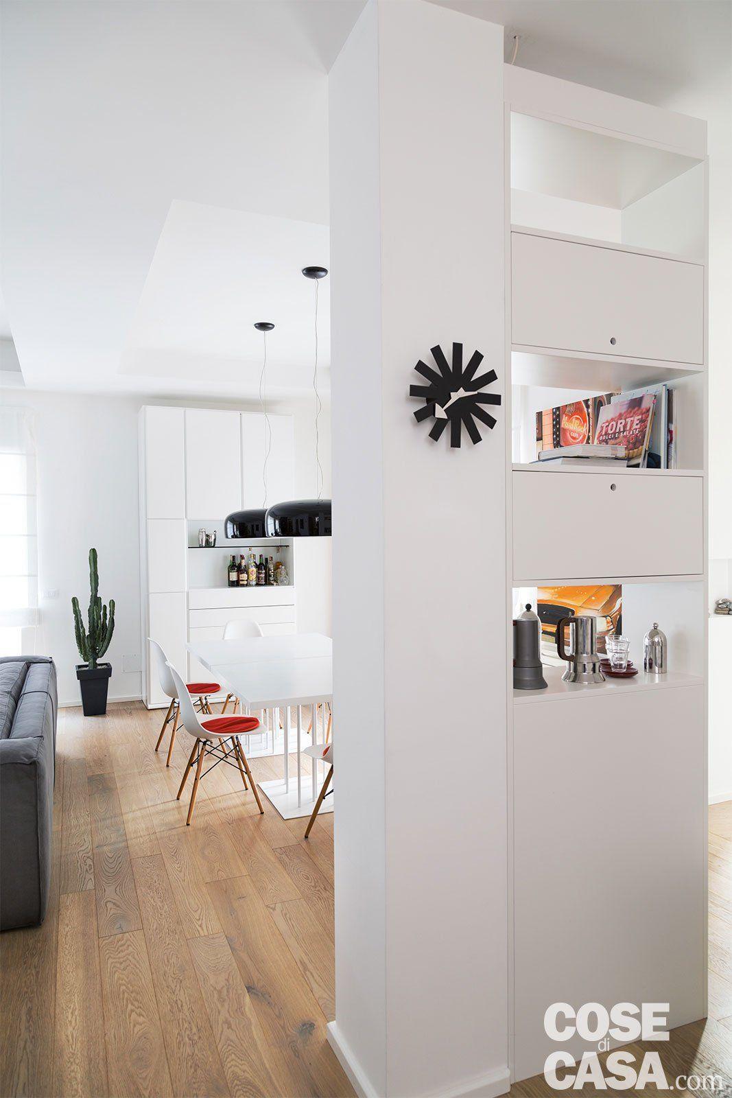 130 mq casastudio con soluzioni a Interior