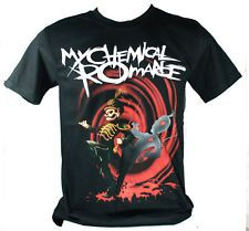 MY CHEMICAL ROMANCE (The Black Parade) MCR765 Size M Medium NEW! T-SHIRT Tour