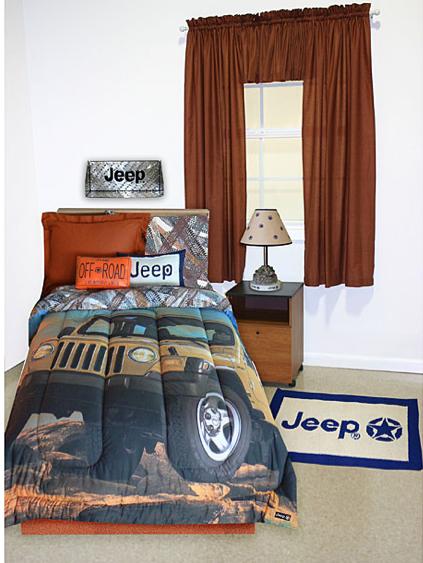 Jeep Bedroom Decor