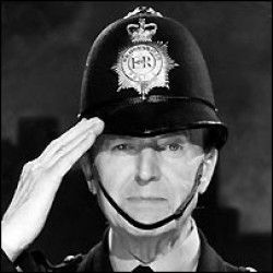 Dixon of Dock Green 50s as I remember. `goodnight all`