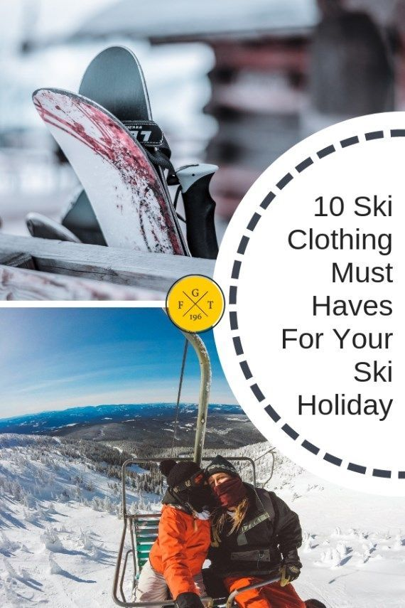 20096fd435 10 Ski Gear Essentials for Beginner Skiers in 2018
