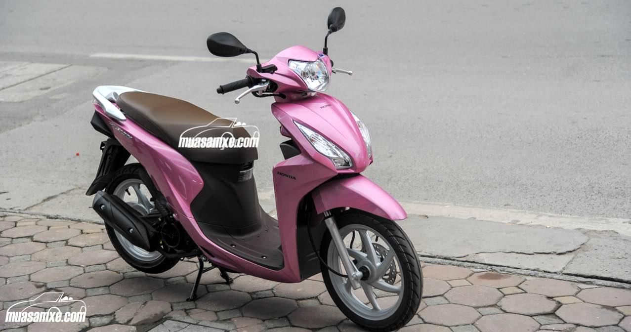 Xe Honda Vision 2017 2018 Màu Hồng Giá Bán Chính Thức Bao