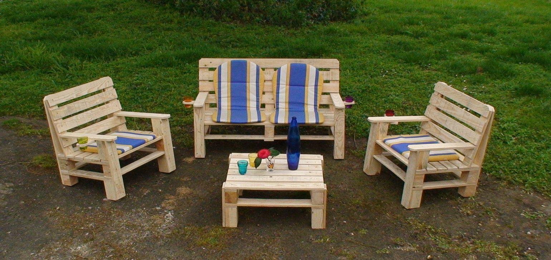 meuble palette bois jardin. Black Bedroom Furniture Sets. Home Design Ideas