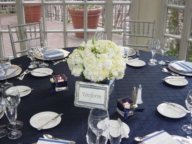 best wedding ideas: Lovely Navy Blue Wedding Centerpieces Theme ...