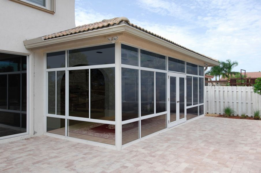 Walls Only Patio Enclosures Gallery Affordable Sunroom Kit Patio Kits Patio Enclosures Enclosed Patio